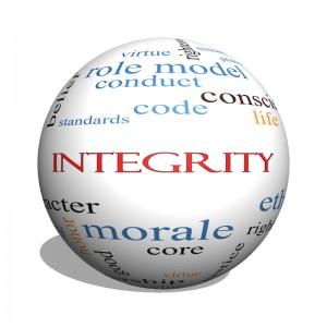 Integriteit is belangrijk bij ons